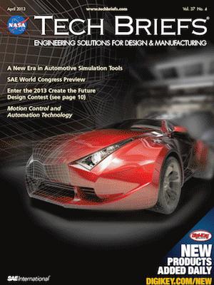 NASA Tech Briefs - April 2013 - Vol  37 No  4 - Tech Briefs
